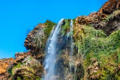Belle cascade au Maroc Photo stock