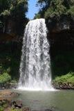 Belle cascade à écriture ligne par ligne Images stock