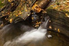 Belle cascade de cascade Photographie stock