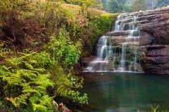 Belle cascade de Liril chez Kodaikanal images stock