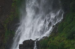 Belle cascade de Thoseghar au village indien Satara-II Photographie stock