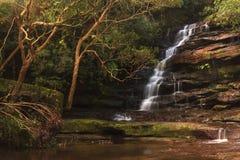 Belle cascade en Nouvelle-Galles du Sud, Australie Photographie stock