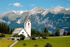 Belle catene montuose alpine, Europa centrale Immagini Stock