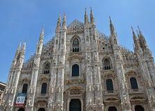 Belle cathédrale célèbre à Milan en Italie image stock