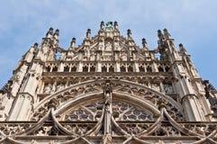 Belle cathédrale gothique de style en Den Bosch, Pays-Bas Image stock