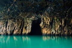 Belle caverne de Phong Nha au Vietnam photo stock