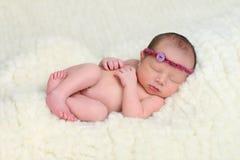 Belle chéri nouveau-née Photographie stock