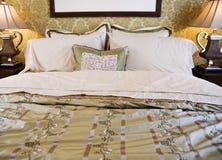 Belle chambre à coucher Images stock