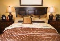 Belle chambre à coucher Image stock