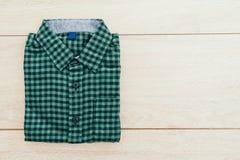 Belle chemise de mode d'hommes Photographie stock