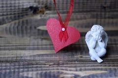 Belle composition en vacances de valentine Images stock