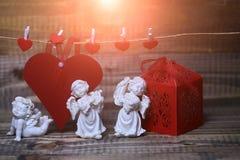 Belle composition en vacances de valentine Photo libre de droits