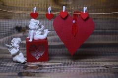 Belle composition en vacances de valentine Image libre de droits