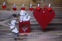 Belle composition en vacances de valentine Images libres de droits
