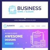 Belle comptabilité de marque de concept d'affaires, opérations bancaires, calcu illustration stock