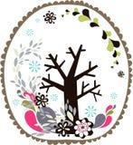 Belle conception d'arbre image stock