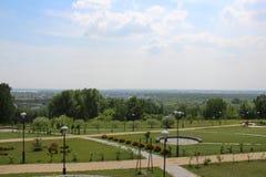 belle conception de paysage en parc photographie stock
