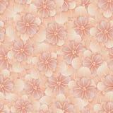 Belle configuration florale sans joint Illustration de vecteur de fleur Zone des fleurs Photographie stock