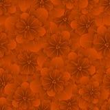 Belle configuration florale sans joint Illustration de vecteur de fleur Zone des fleurs Photographie stock libre de droits