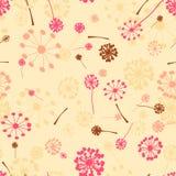 Belle configuration sans joint florale Images libres de droits