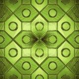 Belle configuration sur une glace verte illustration stock
