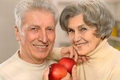 Belle coppie anziane Immagini Stock Libere da Diritti