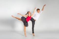 Belle coppie di balletto Fotografia Stock Libera da Diritti