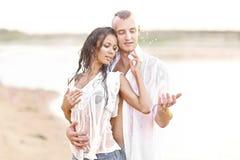 Belle coppie nell'amore Immagine Stock Libera da Diritti