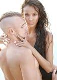 Belle coppie nell'amore Immagini Stock Libere da Diritti