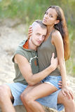 Belle coppie nell'amore Fotografie Stock