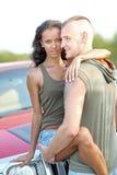Belle coppie nell'amore Fotografie Stock Libere da Diritti