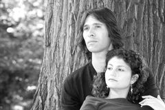 Belle coppie varie Immagine Stock Libera da Diritti