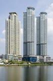 Belle costruzioni della città Immagini Stock