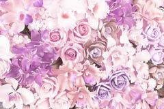 Belle couleur ultra-violette et pourpre de fond de fleurs Images stock