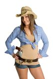 Belle cow-girl images libres de droits