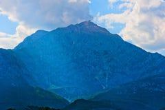 Belle crête de montagne Photos libres de droits