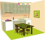 belle cuisine Image libre de droits