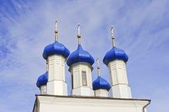 Belle cupole blu scuro Immagini Stock Libere da Diritti