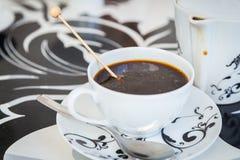 Belle cuvette de café Photo stock
