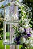 Belle décoration de mariage Photos libres de droits