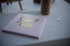 Belle décoration de mariage pour un mariage exquis Photos stock