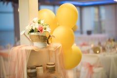 Belle décoration de mariage pour un mariage exquis Photo stock