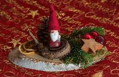 Belle décoration de Noël Photographie stock libre de droits