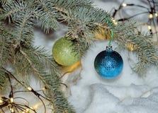 Belle décoration pour l'arbre de Noël photos stock