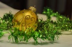 Belle décoration pour l'arbre de Noël photographie stock libre de droits