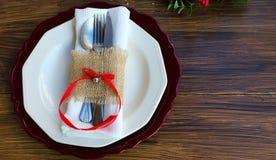 Belle décoration pour le dîner de fête Images stock