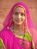 Belle dame indienne Photos stock