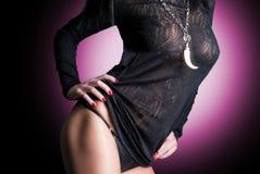 Belle dame sexy renversante Image libre de droits