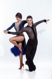Belle danse de couples Photographie stock libre de droits