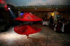 Belle danse vers l'est danse égyptienne nationale Tanura Images stock